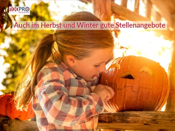 Auch im Winter gute Stellenangebote am Niederrhein